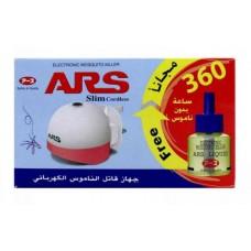 ARS Electronic Mosquito Killer Slim Cordless 360 Hours Liquid Free