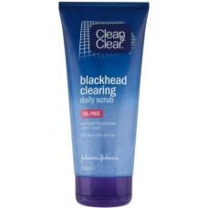 clean&clear black head clearing daily scrub - oil free 150 ml