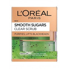 Smooth Sugar Scrubs With Kiwi Seeds To Reduce Blackheads 50 ml
