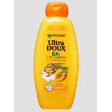 Garnier Ultra Doux Kids 2 in 1 Shampoo with Apricot and Cotton Flower, 700 ml 3610340024641