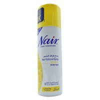 Nair hair removal spray with baby oil - lemon fragrance200 ml
