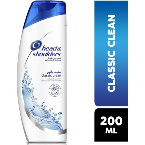 head & shoulders classic clean 200 ml