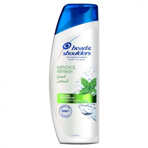 head & shoulders - menthol refresh 400 ml
