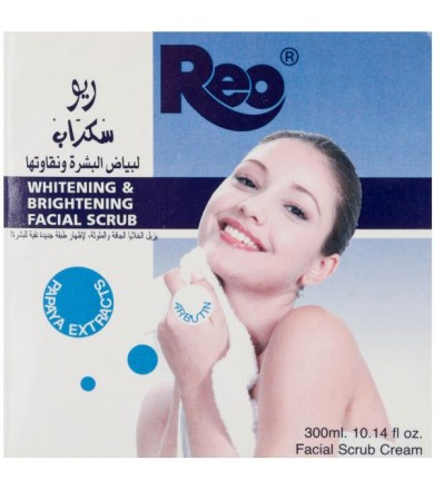 REO whitening & brightening facial scrub 300 ml