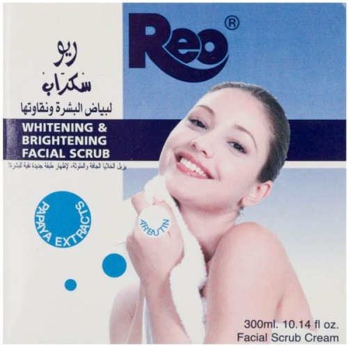 REO whitening & brightening facial scrub 300 ml