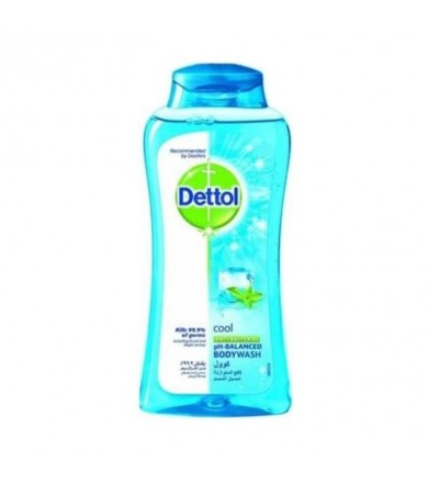 dettol cool- body wash - mint and bergamot 250 ml