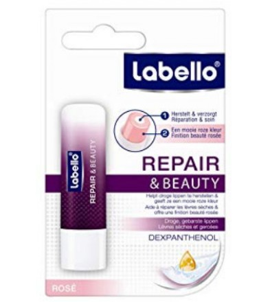 Labello repair & beauty - repairs chapped lips & adds beautiful healthy colour 4.8g