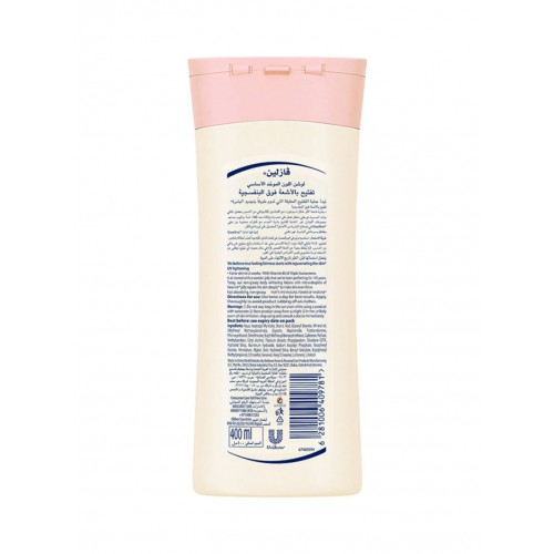 vaseline body lotion essential even tone - vitamin B3 - 400 ml