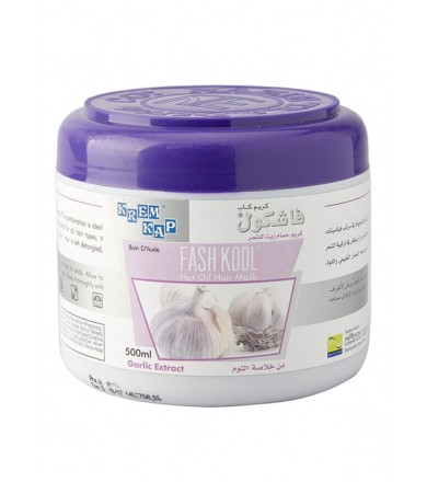 fash kool hot oil hair mask - Garlic Extract 500 ml