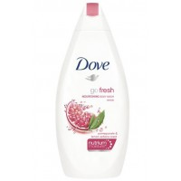 dove - go fresh - nourishing body wash - revive - pomegranate&lemon verbena - scent 250ml