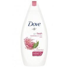 dove - go fresh - nourishing body wash - revive - pomegranate&lemon verbena - scent 250ml
