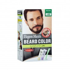 Bigen Men's Beard Color - no ammonia - brown black -B102