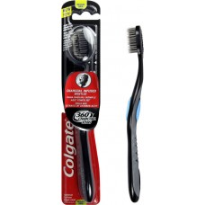 Colgate 360 Charcoal Toothbrush Multi Color