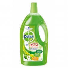 Dettol Healthy Home All Purpose 4 in 1 Green Apple Fragrance Multi Action Cleaner - 3 liter